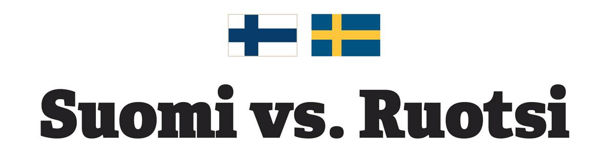 Intranet-palvelut Suomessa 2014, Intranetien maaottelu: Suomi vs. Ruotsi
