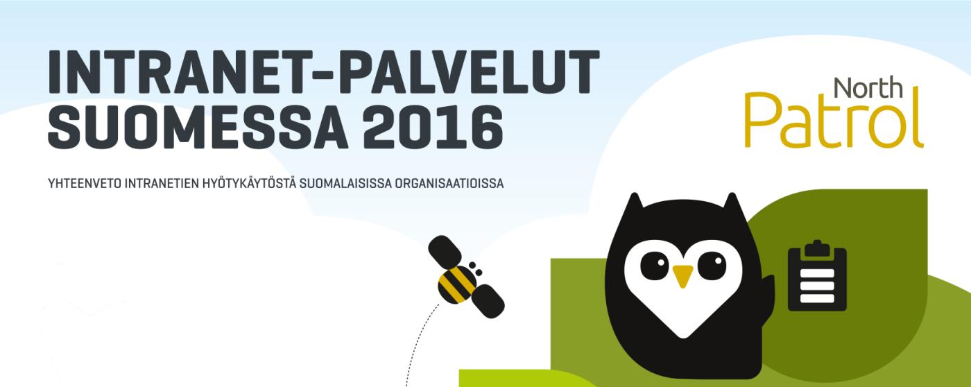 Intranet-palvelut Suomessa 2016: otsalauta