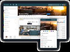 Universe-intranet Demo: Channels-desktop